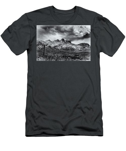 Men's T-Shirt (Slim Fit) featuring the photograph Into Clouds by Mark Myhaver