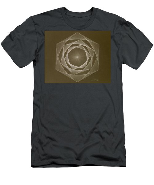Inverted Energy Spiral Men's T-Shirt (Athletic Fit)