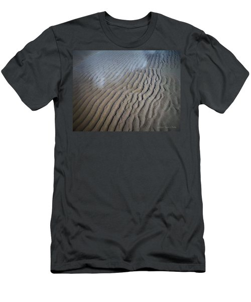 Ireland Beach Men's T-Shirt (Slim Fit) by Tara Potts