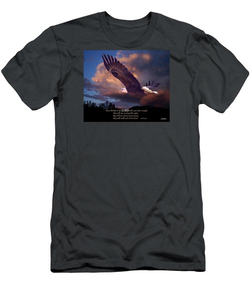 Isaiah 40 31 Men's T-Shirt (Athletic Fit)
