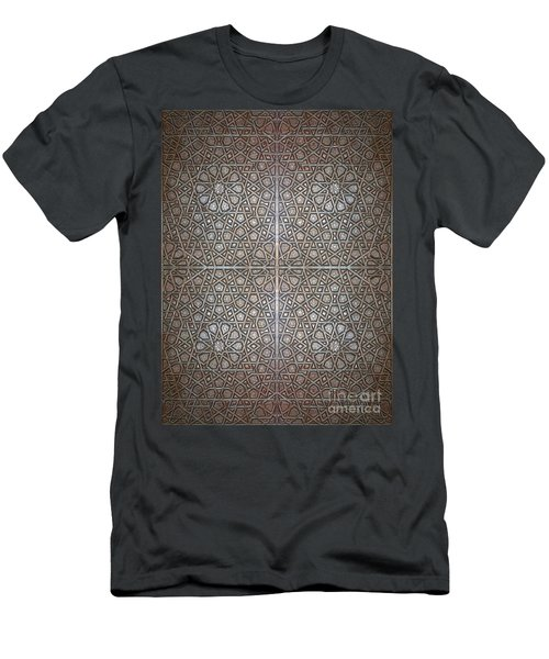 Islamic Wooden Texture Men's T-Shirt (Athletic Fit)