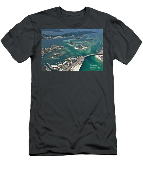 Islands Of Perdido - Labeled Men's T-Shirt (Athletic Fit)