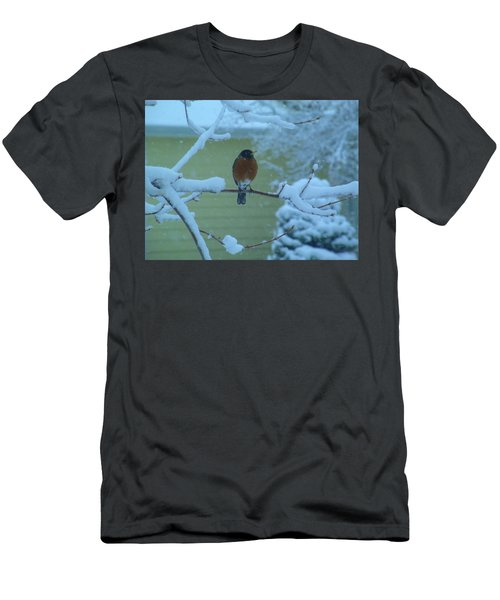 Isn't It Spring Yet? Men's T-Shirt (Athletic Fit)