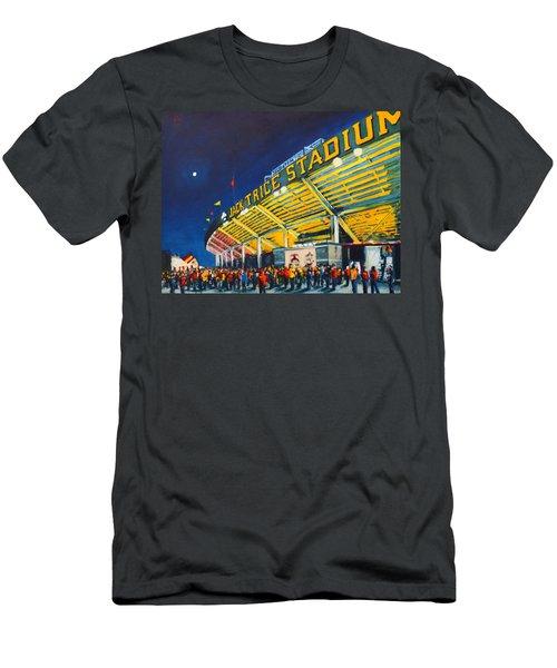 Isu - Jack Trice Stadium Men's T-Shirt (Athletic Fit)