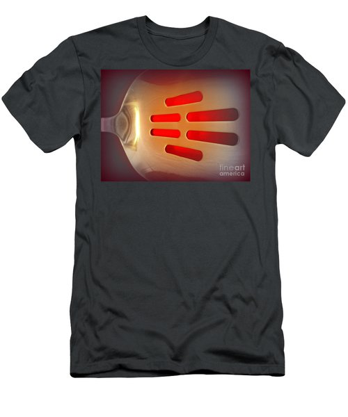 It Glows Men's T-Shirt (Slim Fit) by Clare Bevan
