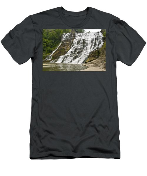 Ithaca Falls Men's T-Shirt (Athletic Fit)