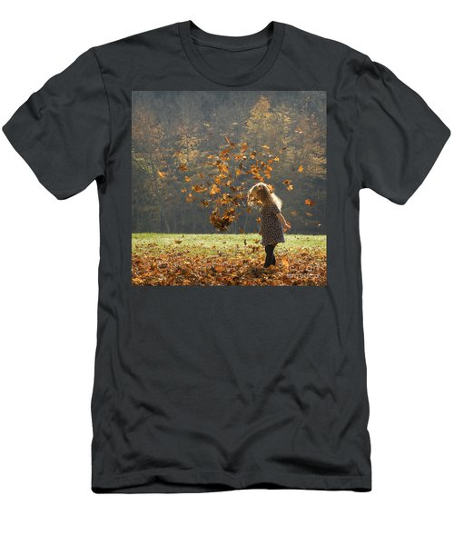 It's Raining Leaves Men's T-Shirt (Athletic Fit)