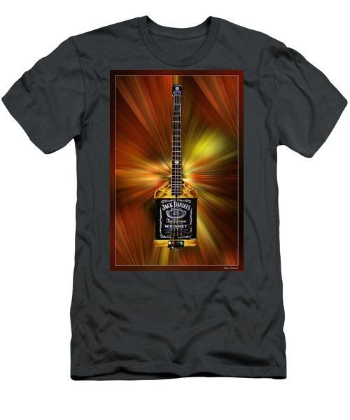 Jack Daniels Whiskey Guitar Men's T-Shirt (Athletic Fit)