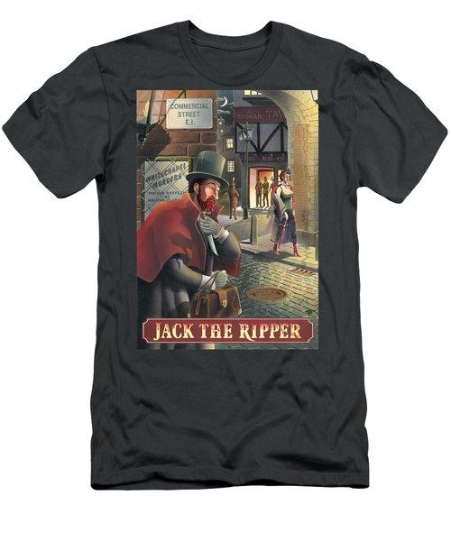 Jack The Ripper Men's T-Shirt (Athletic Fit)