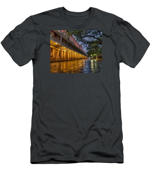 Men's T-Shirt (Slim Fit) featuring the photograph Jackson Square Reflections by Tim Stanley
