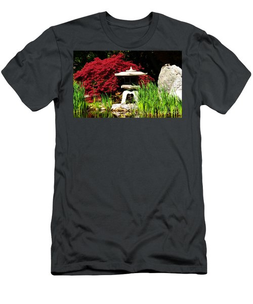 Japanese Garden Men's T-Shirt (Athletic Fit)
