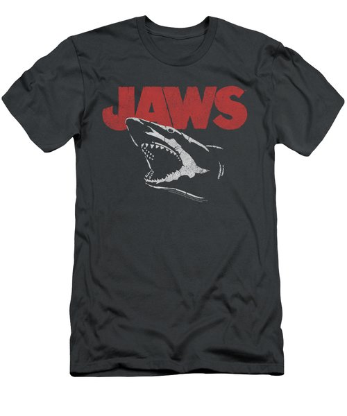 Jaws - Cracked Jaw Men's T-Shirt (Athletic Fit)