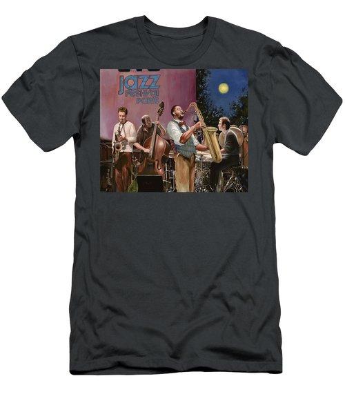 jazz festival in Paris Men's T-Shirt (Athletic Fit)