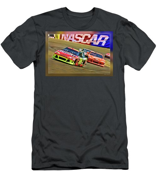 Jeff Gordon-nascar Race Men's T-Shirt (Athletic Fit)