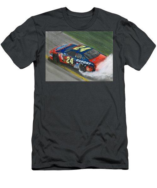 Jeff Gordon Wins Men's T-Shirt (Athletic Fit)