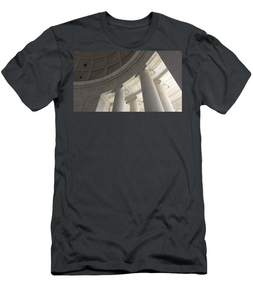 Jefferson Memorial Architecture Men's T-Shirt (Athletic Fit)