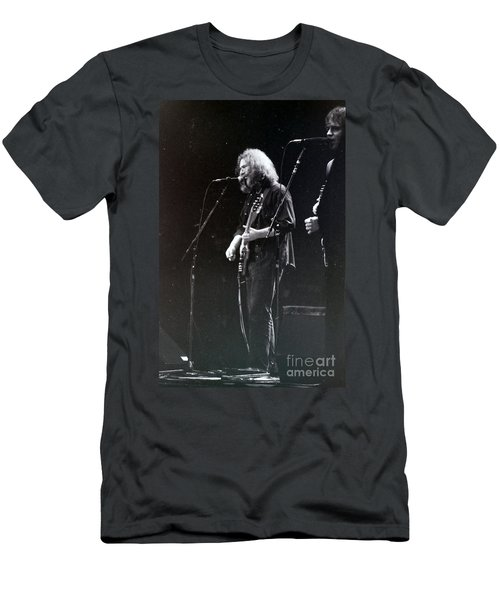 Men's T-Shirt (Slim Fit) featuring the photograph Grateful Dead -  In And Out Of The Garden  by Susan Carella