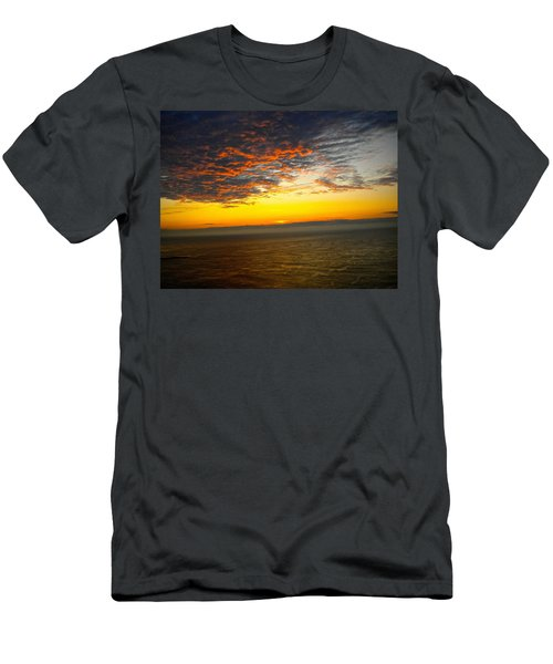 Jersey Morning Sky Men's T-Shirt (Athletic Fit)