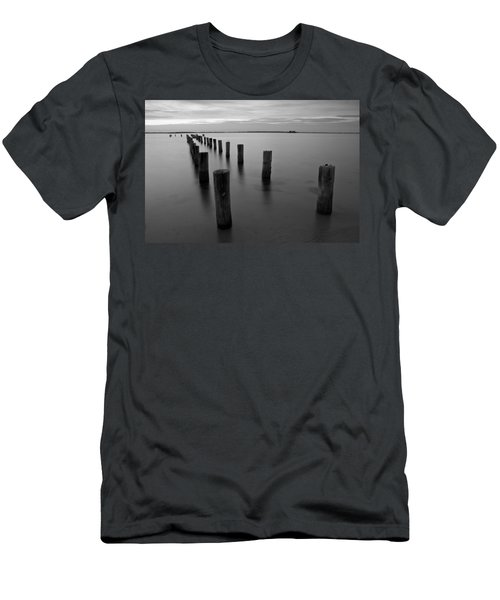 Jetty At Sunset Men's T-Shirt (Athletic Fit)