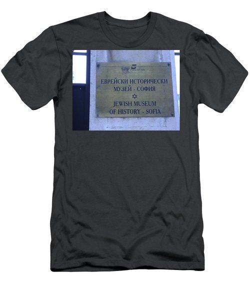 Jewish Museum Of Sofia Men's T-Shirt (Athletic Fit)