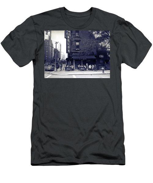 J.g. Melon - Manhattan  Men's T-Shirt (Slim Fit) by Madeline Ellis