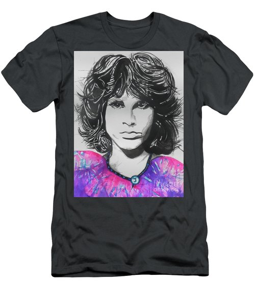 Jim Morrison Men's T-Shirt (Athletic Fit)