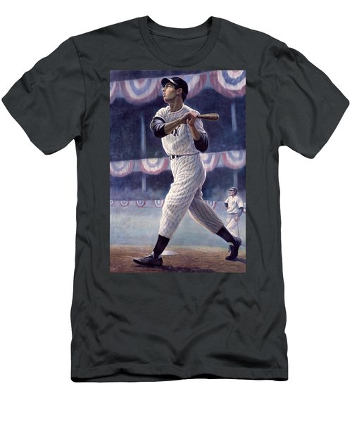 Joe Dimaggio Men's T-Shirt (Athletic Fit)