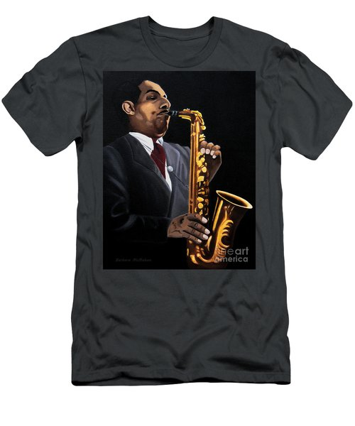 Johnny And The Sax Men's T-Shirt (Athletic Fit)