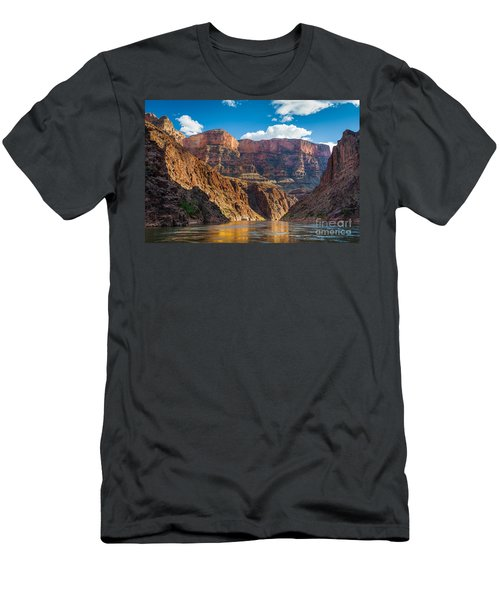 Journey Through The Grand Canyon Men's T-Shirt (Slim Fit) by Inge Johnsson
