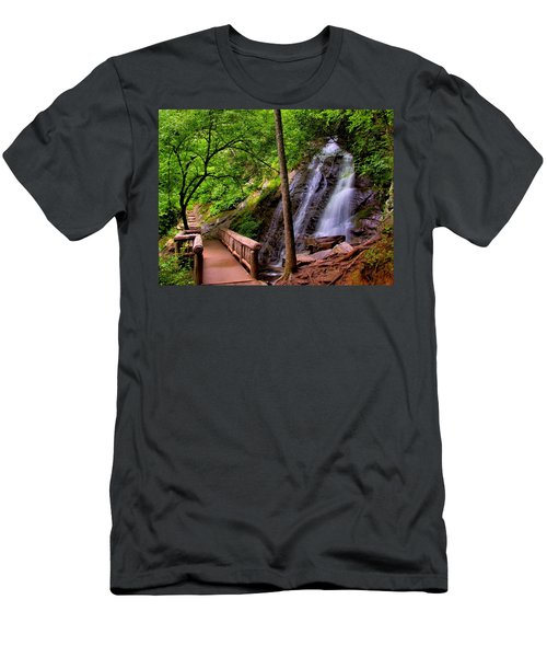 Juney Whank Falls Men's T-Shirt (Athletic Fit)