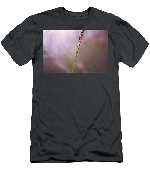 Men's T-Shirt (Slim Fit) featuring the photograph Just Few Drops by Rima Biswas