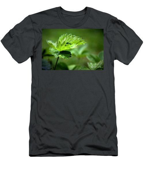 Just Green Men's T-Shirt (Athletic Fit)