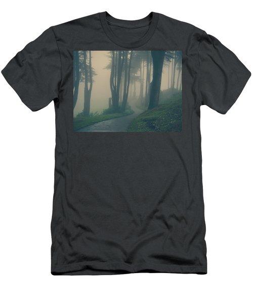 Just Whisper Men's T-Shirt (Athletic Fit)