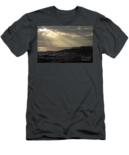 Men's T-Shirt (Slim Fit) featuring the photograph Kaloli Lani by Ellen Cotton