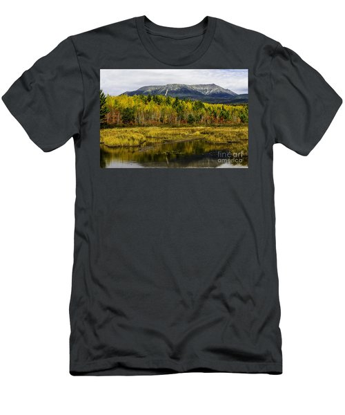 Katahdin Baxter State Park Maine Men's T-Shirt (Athletic Fit)