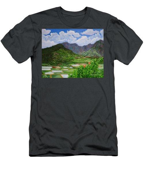 Kauai Taro Fields Men's T-Shirt (Athletic Fit)