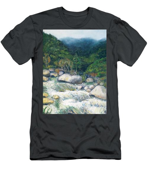 Kaweah River Men's T-Shirt (Athletic Fit)