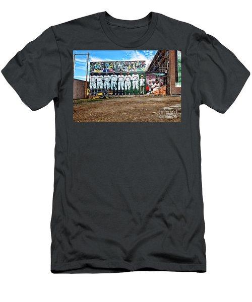 Kc Monarchs - Baseball Men's T-Shirt (Athletic Fit)
