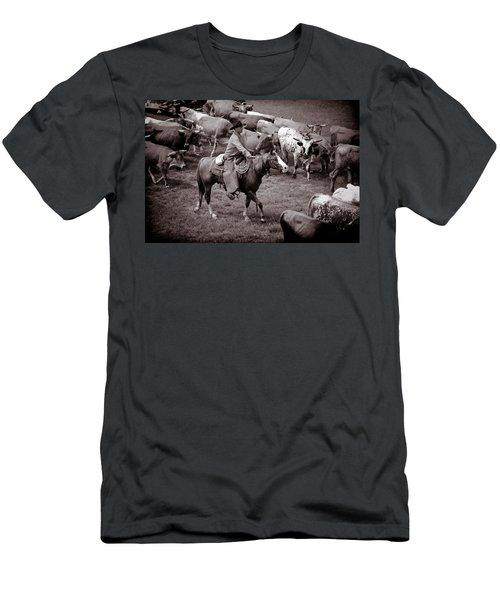 Keep Em Moving Men's T-Shirt (Athletic Fit)