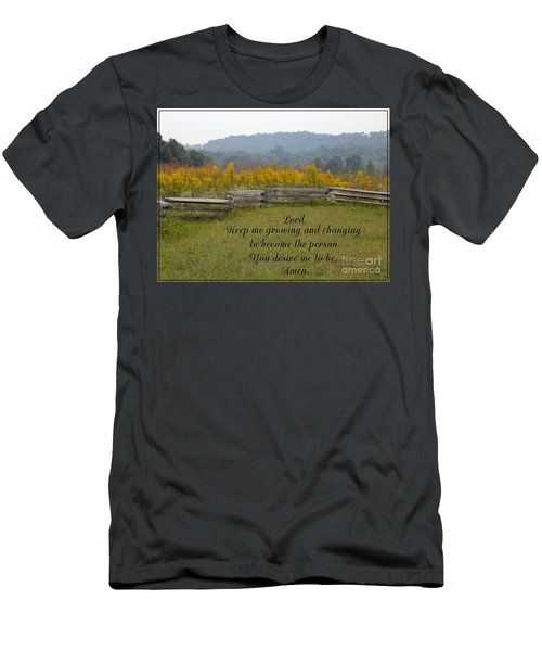 Keep Me Growing Men's T-Shirt (Athletic Fit)