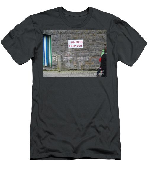 Keep Out Aran Islands Ireland Men's T-Shirt (Athletic Fit)