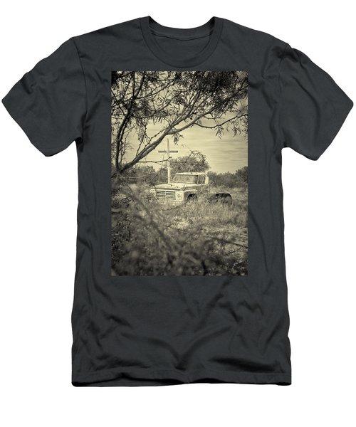 Men's T-Shirt (Slim Fit) featuring the digital art Keeping Watch by Erika Weber