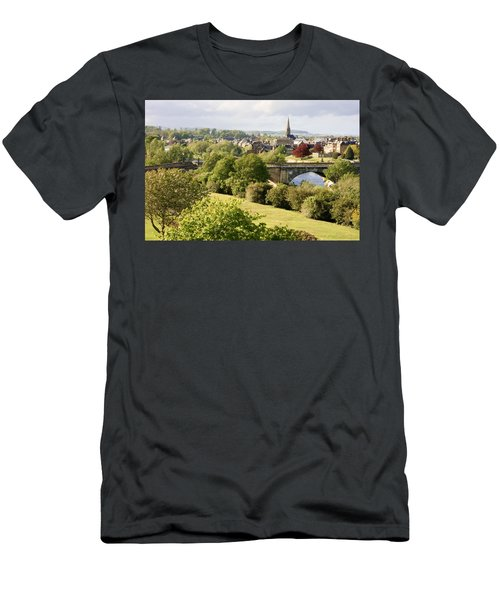 Men's T-Shirt (Athletic Fit) featuring the photograph Kelso In The Sun by Susan Leonard