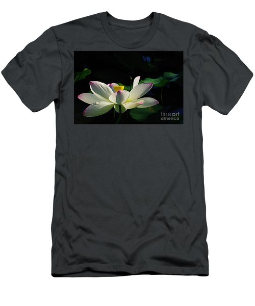 Men's T-Shirt (Slim Fit) featuring the photograph Kenilworth Garden Two by John S