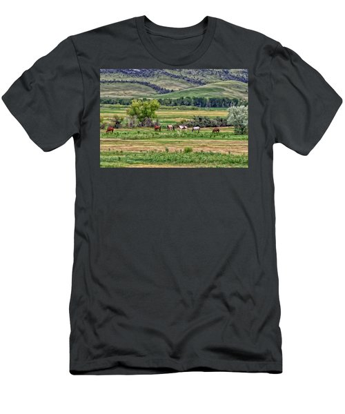 K G Ranch Men's T-Shirt (Athletic Fit)