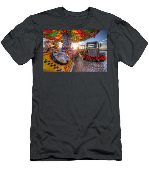 Kiddie Rides Men's T-Shirt (Athletic Fit)