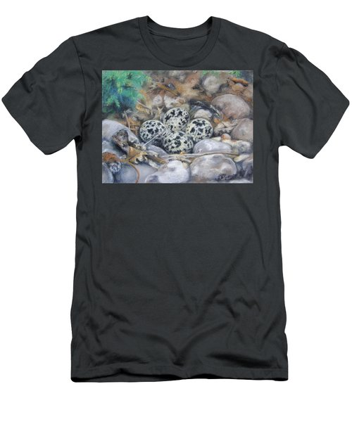 Killdeer Nest Men's T-Shirt (Athletic Fit)