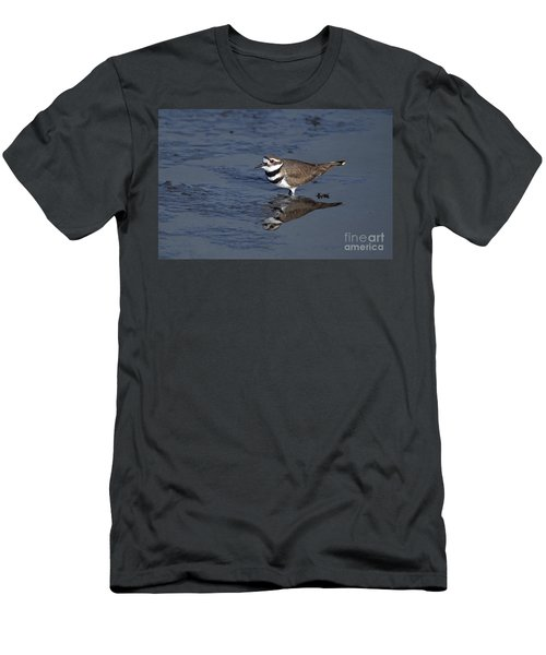 Killdeer Plover Charadrius Vociferus Men's T-Shirt (Athletic Fit)