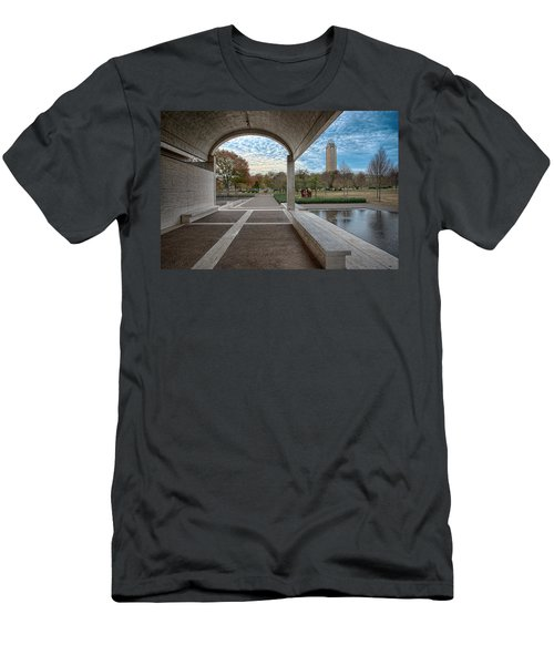 Kimbell Art Museum Fort Worth Men's T-Shirt (Athletic Fit)