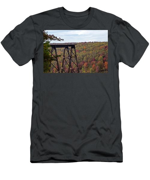 Kinzua Bridge Men's T-Shirt (Athletic Fit)